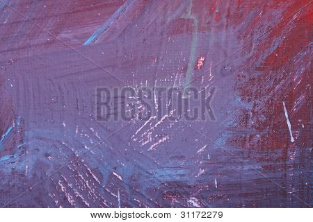 purple Abstract Brush Picture
