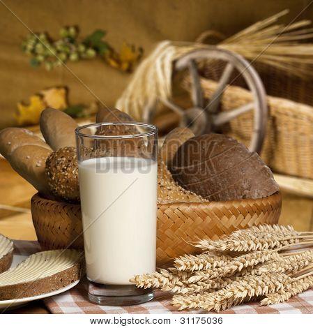 Still Life With Milk