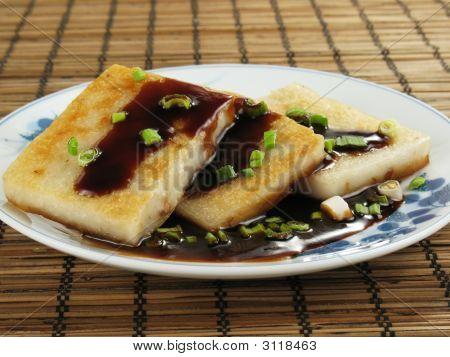 Dim Sum Taro Cakes