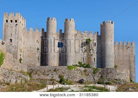 Obidos Castle, Estremadura, Portugal, Europe.
