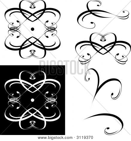 Decorative Elements Flourishes