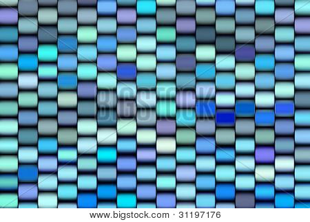 Abstract 3D Render Multiple Blue Purple Backdrop Pattern