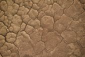 Dry Cracked Earth During In A Rainy Season Because Lack Of Rain Shortage Of Water Cracked Soil Textu poster