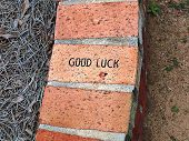 Good Luck Brick