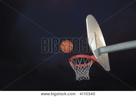 Basketball In The Dark