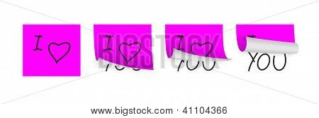 Valentine Adhesive Papers