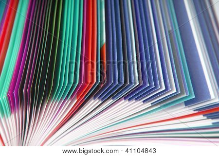 textura de papel de revista