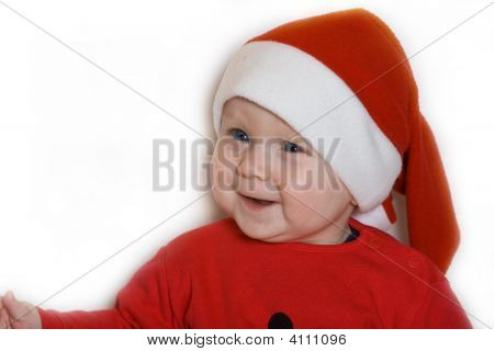 Small Child In The Red Cap
