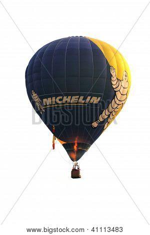Putrajaya, Malaysia-Mär 16: Filip Audenaert (Belgien) mit Michelin Ballon In Flug gefährden im 4.