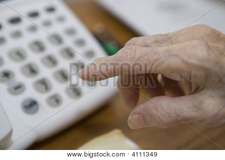 Old Hands And Phone