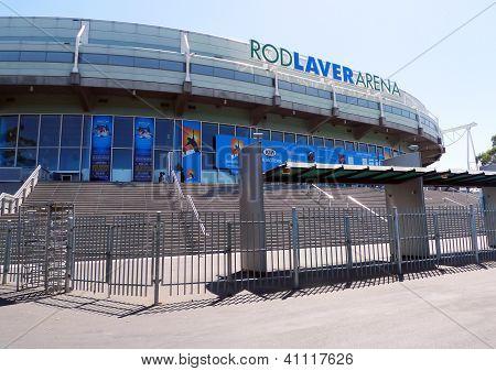 Rod Laver arena  at Australian tennis center