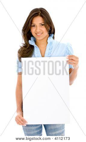 Banner Add Woman