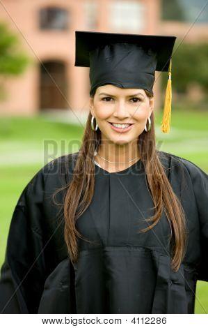 Retrato de graduación
