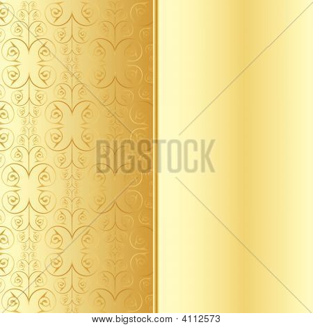 Decorative Pattern Gold