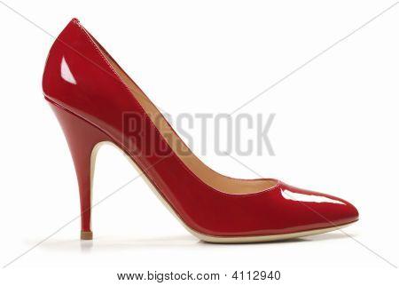 sexy roten Schuhen