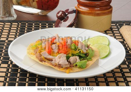 Pork Carnita Tostada