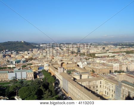 Rome - View From The Vatican