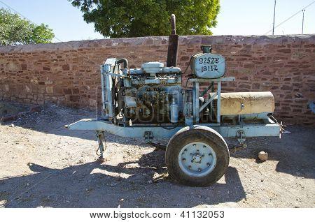 Old Electric Generator In Jodhpur, India