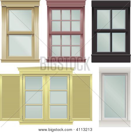 Window Vector Illustrations