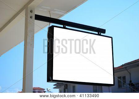 Urban Blank Billboard