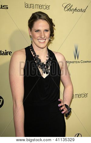LOS ANGELES - JAN 13:  Missy Franklin arrives at the 2013 Weinstein Post Golden Globe Party at Beverly Hilton Hotel on January 13, 2013 in Beverly Hills, CA..