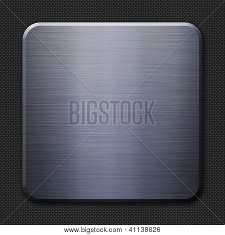 Steel and carbon fiber background or texture