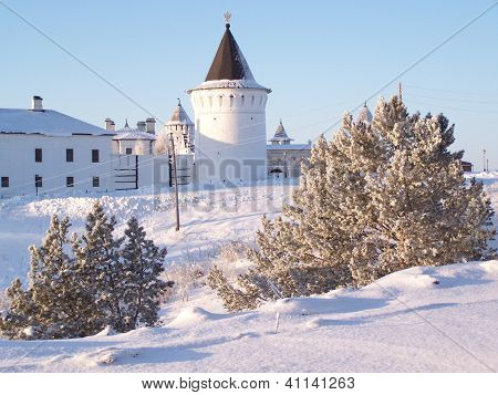 Kremlin of Tobolsk. The north-east tower.