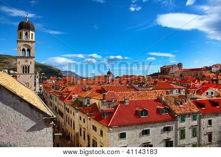Beautiful Panorama Of Dubrovnik