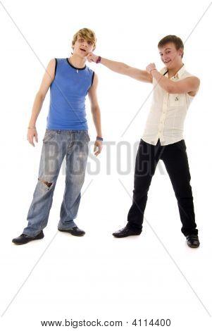 Fashion Young Boys Duet
