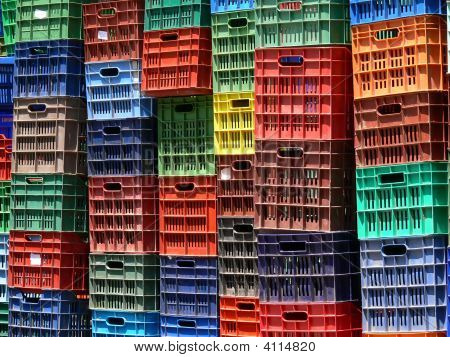 Colored Fruit Boxes Collections