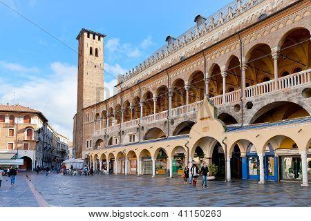 Palazzo Della Ragione On Piazza Delle Erbe, Padua