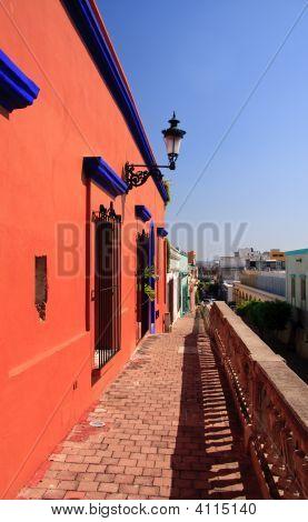 Elevated Pathway In Mazatlan