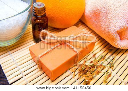 Natural Soap, Spa Concept
