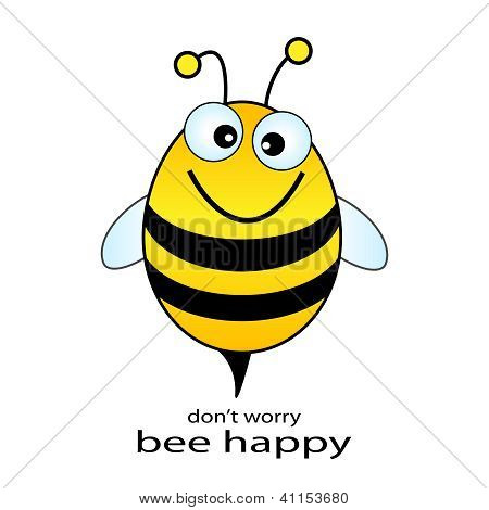 Be happy vector illustration