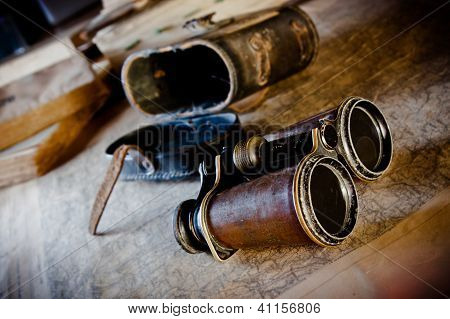 Vintage Binoculars: Planning An Expedition