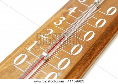 Thermometer Closeup