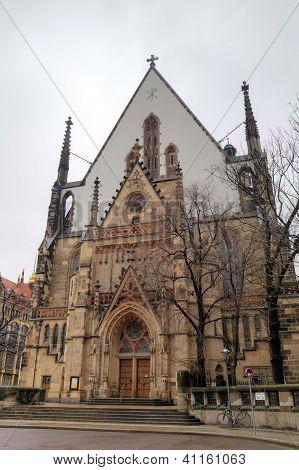 Saint Thomas Church (Thomaskirche). Leipzig, Germany
