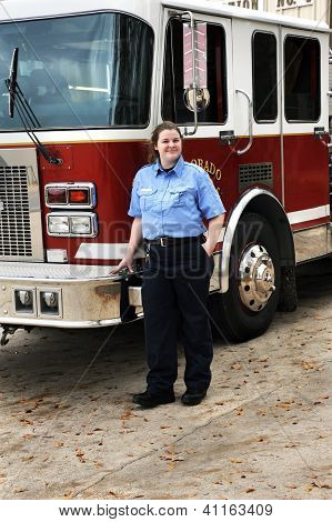 Fire Fighting Female