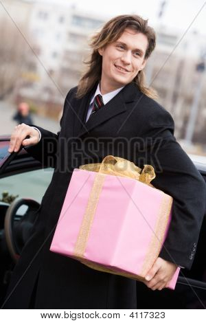 Man With Gift