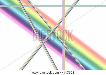 Pastel Colour Rainbow Background