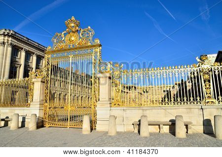 Versailles Palace in Paris, France