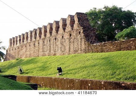 Ancient city walls.