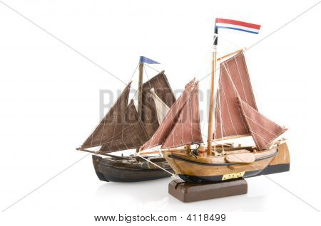 Old Dutch Salboats
