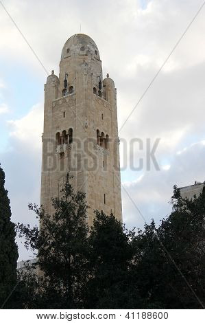 Jerusalem, Israel - December 19: Jerusalem International Ymca Is Considered A City Landmark  On Dece