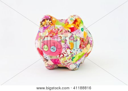 Cloth piggy bank