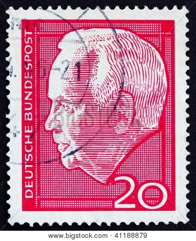 Postage Stamp Germany 1964 Heinrich Lubke