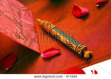 Wooden Crayon