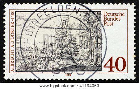 Postage Stamp Germany 1980 Albrecht Altdorfer