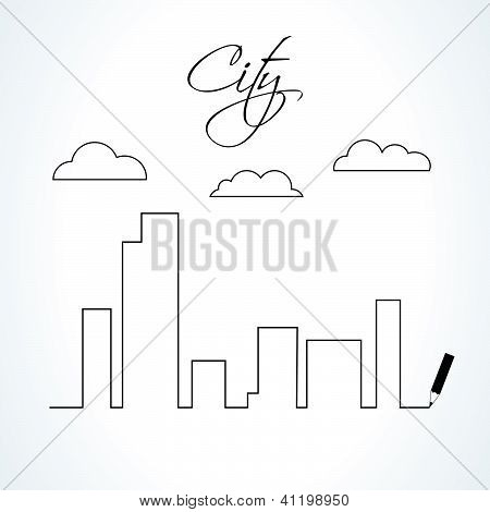 Conceito de design da cidade