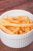 image of ling  - light brown fried noodles or philippine version of french fries aka shing-a-ling
